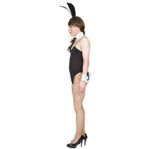 女装 コスプレ衣装 【バニー】 メンズ180cm迄 ポリエステル 『ホットボーイ』 〔パーティー〕