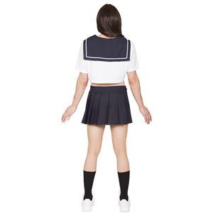 女装 コスプレ衣装 【ショートセーラー】 メンズ180cm迄 ポリエステル 『ホットボーイ』 〔パーティー〕