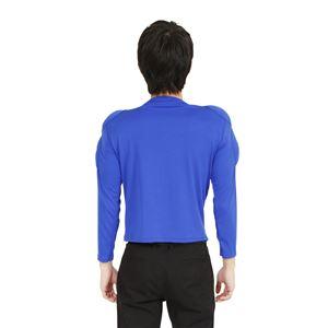 コスプレ衣装/コスチューム 【ムキムキマッチョ ブルー】 ポリエステル 〔イベント パーティー〕