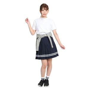 制服/コスプレ衣装 【ポロシャツ ホワイト Mサイズ】 綿 アクリル 『TeensEver』 〔イベント パーティー〕  の画像