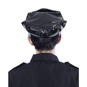 ポリスハット 黒