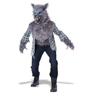 コスプレ衣装/コスチューム California Costumes BLOOD MOON-GRAY / ADULT 【胸パーツ付シャツ・マスク】の写真1