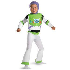 コスプレ衣装/コスチューム 【Buzz Lightyear Deluxe Child ジャンプスーツ・胸パーツ・フード】 ポリエステル 『Disguise』