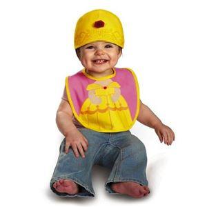 コスプレ衣装/コスチューム 【Belle Bib & Hat よだれかけ・帽子】 コットン 『Disguise』 〔ハロウィン〕