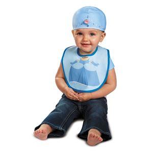 コスプレ衣装/コスチューム 【Cinderella Bib & Hat よだれかけ・帽子】 コットン 『Disguise』 〔ハロウィン〕