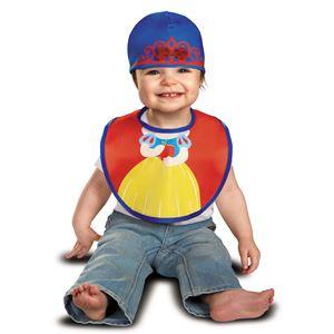 コスプレ衣装/コスチューム 【Snow White Bib & Hat よだれかけ・帽子】 コットン 『Disguise』 〔ハロウィン〕