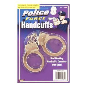 コスプレ衣装/コスチューム FORUM HANDCUFFS-METAL おもちゃの手錠の写真1