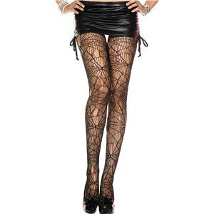 コスプレ衣装/コスチューム Music Legs 50070-BLACK ストッキング