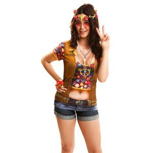 コスプレ衣装/コスチューム Yiija Hippie girl S Tシャツ