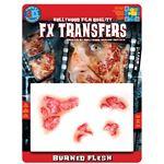 コスプレ衣装/コスチューム Tinsley Transfers Burned Flesh 装飾メイクシール