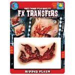 コスプレ衣装/コスチューム Tinsley Transfers Ripped Flesh 装飾メイクシール