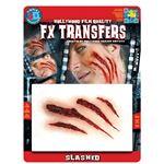 コスプレ衣装/コスチューム Tinsley Transfers Slashed 装飾メイクシール