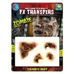 コスプレ衣装/コスチューム Tinsley Transfers Zombie Rot 装飾メイクシール
