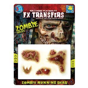 コスプレ衣装/コスチューム Tinsley Transfers Zombie Running Dead 装飾メイクシールの写真1
