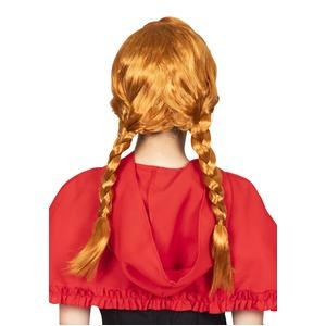 コスプレ衣装/コスチューム 【赤毛のおさげちゃん】 パーティーウィッグ 男女兼用 『カツランド』〔新年会 ハロウィン 宴会〕