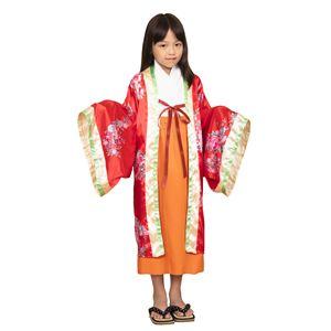 コスプレ衣装/コスチューム【姫様120cmサイズ】子供用ハロウィンおままごとお遊戯会『キッズジョブ』