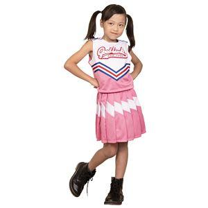 【コスプレ衣装/コスチューム】キッズジョブ チアガール 120cmサイズ ピンク
