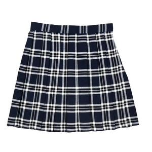 【コスプレ】 プリーツスカート(紺×白) M 4560320825074 - 拡大画像