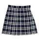 【コスプレ】 プリーツスカート(紺×白) L 4560320825081 - 縮小画像1