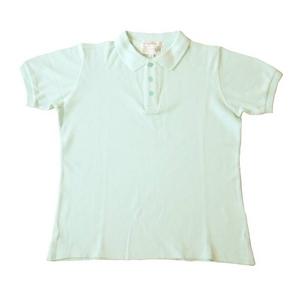 ポロシャツ(サックス) M