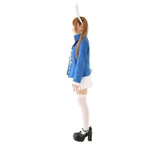 【コスプレ】 アリス 2nd ホワイトラビットコスプレ(カチューシャ ジャケット ブラウス ジャボ パンツ しっぽ) 4560320828242