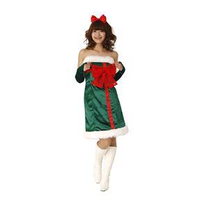 【新作!クリスマス☆コスチューム】クリスマスプレゼントドレス