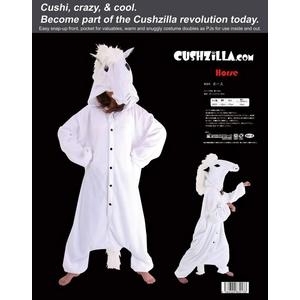 【着ぐるみ】Cushzilla Horse ホース - 拡大画像