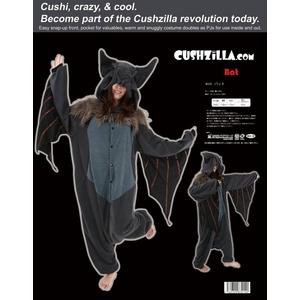 【着ぐるみ】Cushzilla Bat バット - 拡大画像