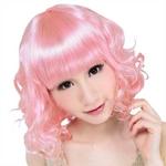 【コスプレ】 セレブパーティー カーリーミディアム(ピンク) 4560320836292