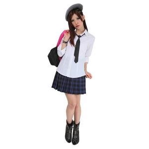 【コスプレ】 TeensEver(ティーンズエバー) コスプレ TE-11AW スカート ブルー×グリーン M 4560320837442