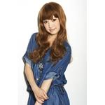 【コスプレ】 【耐熱ウィッグ】【フルウィッグ】★Hip Chick Wig Tokyo★ ガーリーロング ピーナッツブラウン