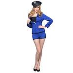 【コスプレ】 シングルボタンジャケットブルー NYW_1602-70 Mサイズ 4560320840497