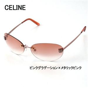 CELINE(セリーヌ) サングラス 1284-A39 ピンクグラデーション×メタリックピンク