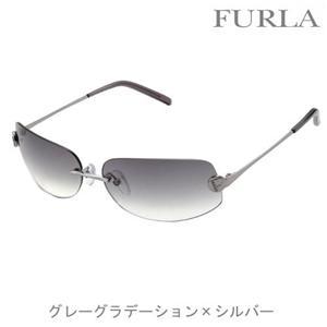FURLA サングラス 4098 509 グレーグラデーション×シルバー