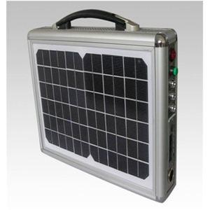 ソーラー式ポータブル発電機 PETC-FDXT‐10W - 拡大画像