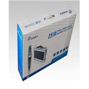 ソーラー式ポータブル発電機 PETC-FDXT‐15W 【アタッシュケース型太陽光発電器】