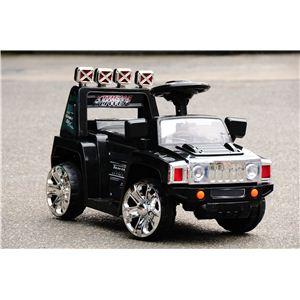 電動乗用ラジコン NEW SUV TYPE-A (ハマースタイル) ブラック - 拡大画像