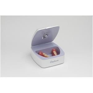 オーラクリーン ディー・アルファ <入れ歯用紫外線除菌ケース・パールホワイト>