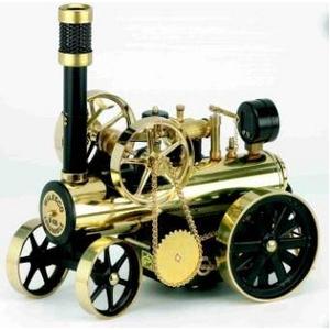 模型車両 ドイツ製 ヴィルヘルム・シュレッダー社の『蒸気エンジン付きトラクター』  - 拡大画像