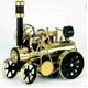 模型車両 ドイツ製 ヴィルヘルム・シュレッダー社の『蒸気エンジン付きトラクター』  - 縮小画像1