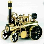 模型車両 ドイツ製 ヴィルヘルム・シュレッダー社の『蒸気エンジン付きトラクター』