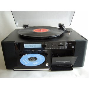 CD録音機能付マルチステレオ A2D-1 - 拡大画像