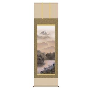 山水掛軸  『富士閑景』