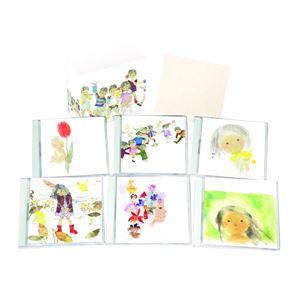 懐かしの童謡・唱歌 【CD6枚組 全120曲】 いわさきちひろ作水彩画ジャケット 別冊歌詞ブックレット カートンBOX付き 〔音楽〕