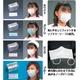 業務用NEWファインマスク3PLYマスク(リトル)50枚入×2個(計100枚) グリーン - 縮小画像1