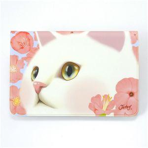 JETOY(ジェトイ) 猫柄通帳ケース 2010年モデル セレブ - 拡大画像