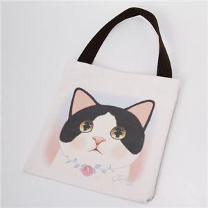 JETOY(ジェトイ) 猫柄ミニトートバッグ  ジュエル - 拡大画像