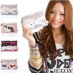 JETOY(ジェトイ) プチポーチ  ピンクビーズ (税込: 3,780円)