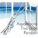 アクアマリン5ポイントペンダント - 縮小画像1