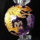 四神獣アメジスト&水晶ブレスレット(白虎) - 縮小画像2